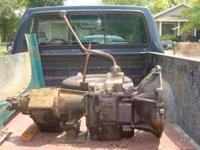 Ford transmission 4WD; NP435 with Dana21; $200.00 firm