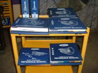 I have 7 Ford Transmission shop handbooks for sale.