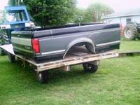 One 8 foot truck bed fits a 1987 to 1996 ford truck. no