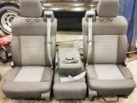 Offering a set of excellent utilized seats. Seats are