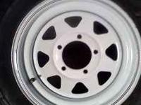 Set of 4 ford 5 lug wheels Came off a 88 ford f-150.