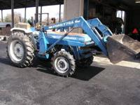 Ford 2110 is a 38hp tractor with 4 wheel drive and