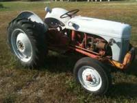 Selling my 8N Ford tractor. New Clutch. Straight
