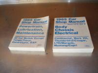 Here's a set of factory repair manuals for a variety of