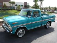 Extra clean 1972 Ford F100 Ranger XLT one of the nicest
