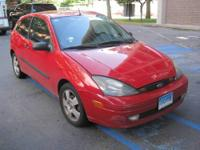 For sale: Red ford focus ZH3 Hatchback 2003, low