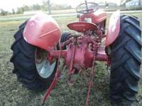 1954 Ford Jubilee Tractor - Great running tractor.