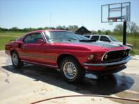 Here is a nice 1969 Mach 1 Mustang Fastback, R code 428