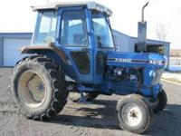 Ford 6610 Tractor 7900 hours - runs good, good tires,