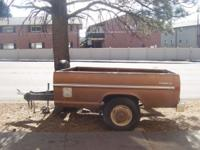 This is a '74 Ford truck bed that has been converted