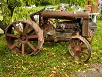 We have 3 fordson tractors to pick from .asking $900