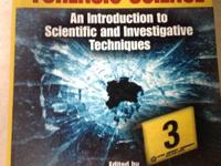 ISBN#3 third edition.....Forensic Science An