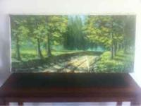 Painting For Sale. Oil on canvas. About 40 inches wide.