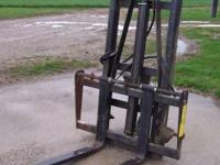 3 pt. Forklift made by worksaver. works great. saves