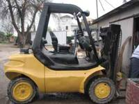 Linde forklift good strong and reliable running Perkins