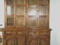 Formal Dining Room Set with China Hutch All wood formal