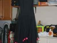 Multiple formal and informal dresses, worn once, black