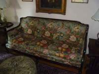 Formal living room sofa, upholstery in excellent