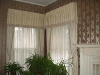 Beautiful formal custom window treatments from high-end