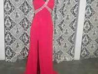 Beautiful Crown Collection gowns in a Red size 6 and