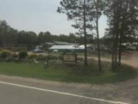 Nice 2 1/2 a. commercial site near Longville. Formerly