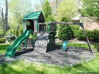 OUTDOOR FORT & PLAYSET, SWINGS, SLIDE, WALL,?..   FOR