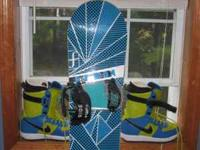 Forum Recon Snowboard 149cm very good condition, brand