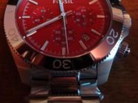 New with band tags. Watch. Brand name: Fossil.