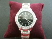 "For sale, beautiful ""Jesse"" Fossil watch. Stainless"