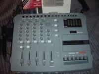 fostex 4 track recorder. comes with cable, two