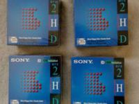 Four 10 Pack Sony IBM formatted 1.44MB Micro Floppy