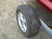 set of four 195/14 tires. Like new on plymouth breeze