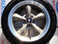 4 17 inch Ford Mustang GT Bullitt 2001 Wheels and