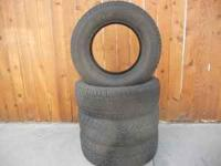 225/70R16 TIRES FOR SALE TWO WILD CATS AND TWO BFG LONG