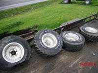 4 Ford aluminum wheels for half ton Ford. 5 lug hole.