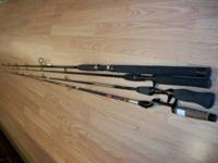 I have Four (4) Angling Poles (no Reels)-- UTILIZED--