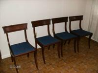 These are very nice plain chairs that have been in the