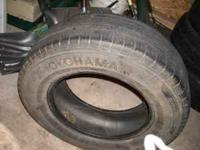 I have four tires for sale. Goodyear wrangler sr
