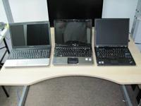 Up for sale is four laptops. Each laptop computer has a