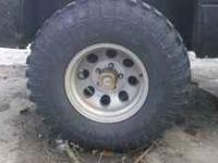 i am selling a set of 4 mickey thompson rims these rims