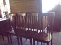 Four Nice Dining Chairs only $125.00 for the set. Call