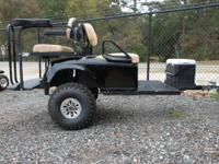 This tow-behind trailer is great for adding extra seats