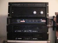 I Have four power amps that all work starting from top