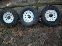 Four Tires in very good condition. The size of the