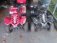 have two matching batman 110 cc quad