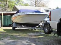 2001 18' four winns horizon bow rider with volvo penta