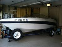 Pristine and Immaculate, always garaged, 18' 4 Winns