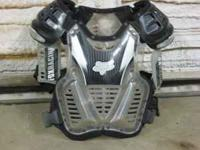 FOX CHEST PROTECTOR GREAT CONDITION 50.00 CALL