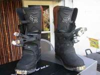 Fox Racing Boots size 5 NEW Contact @  Location: