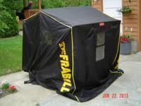 Frabill Ranger XL Twin portable fish house. Used only a